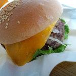 フレッシュネスバーガー - 本当にマンゴー入ってマス!