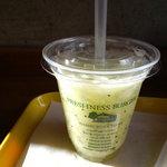 フレッシュネスバーガー - キウイのジュース!おいしかった!
