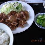 てんぐ食堂 - 100717 焼肉定食