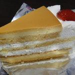 パステルデザート - プリンケーキ